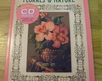 Floral Nature Clip Art book with CD Destash