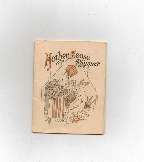 1918 Star Brand shoes Mother Goose book advertising premium