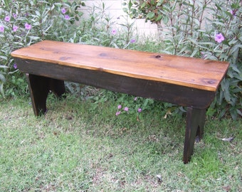 The Arcadian Cottage Bench - Handmade with Reclaimed Barn Wood