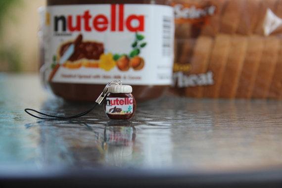 Nutella Polymer Clay Phone Charm