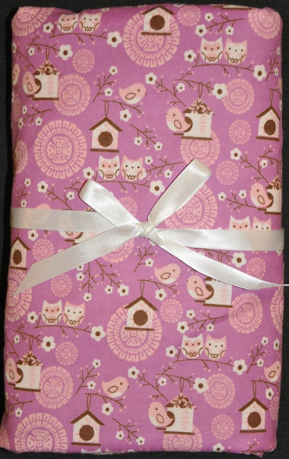 RESERVED listing for Carrie P. Extra Large Receiving/Swaddle Blankets (3) Woodland Owls/Birds Umbrellas Ballerinas