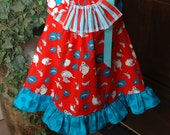 OH SO SEUSSY-Dr Seuss Pillowcase Dress