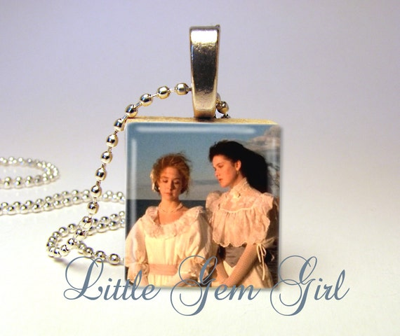 Anne of Green Gables - Kindred Spirits - Anne & Diana - Scrabble Tile Necklace Pendant (ball chain sold separately)
