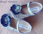 Shoes - REBECCA - soft soled handmade shoes available in size 1 thru 13 baby and children-other colors available