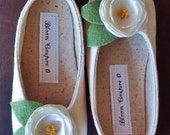 Shoes - ISABELLA - soft soled handmade shoes available in size 1 thru 13 baby and children-other colors available