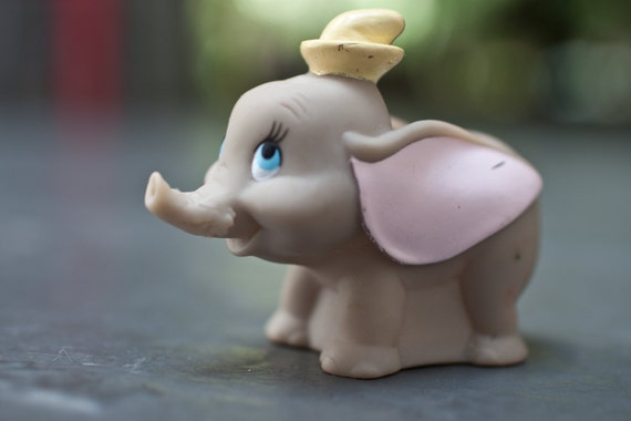 SALE - Dumbo Rubber Toy Walt Disney
