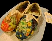 Van Gogh TOMS Shoes