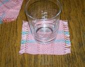 Coasters / Mug Rugs,  handwoven - Hopesoma09