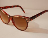 Womens Cat Eye Brown Sunglasses A16