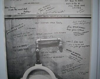 "Vintage ""Graffiti""#2 Poster"