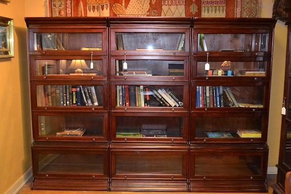 Items Similar To Mahogany Barrister Bookcase Stacking
