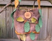 Felt Forest Faerie Bag