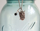 The Hedwig Owl Necklace - Pendant Beaded Jewelry Necklace Jewellery