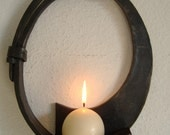 Round Candle Wall Sconce
