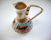 VINTAGE CARAFE PITCHER - C. Miller Pottery Mid-Century Modern from 50's - Great Barware - Treasury Item