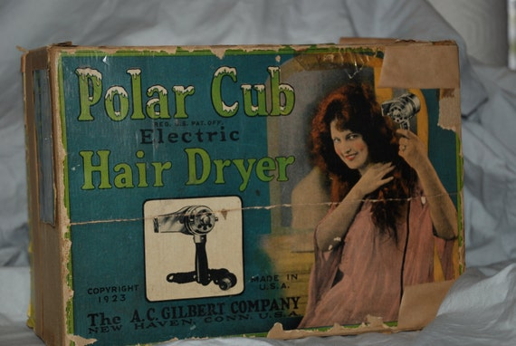 1920's Polar Cub Hair Dryer