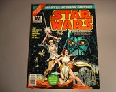 Star Wars Comic Book First Edition Marvel Special Edition 1977 Collector's Edition Vintage