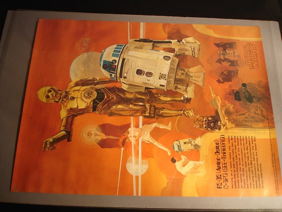 Vintage Star Wars Movie Posters You Get All Five 18 by 24 1970's by Coca Cola Burger King
