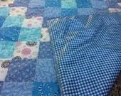 Washable Waterproof Picnic Blanket- It's a blue sort of day.......