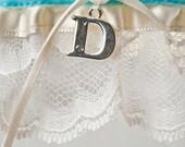 "Wedding Garter Blue ""Custom"" 2"