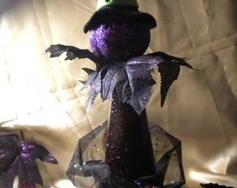Halloween Decoration Zelda the Mama Witch Pumpkinhead