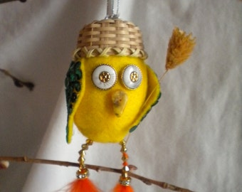 Easter Day Ornament, Timmy the Easter Chick