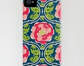 Yogita : India Floral Print iPhone Case - iPhone (3GS, 3G)