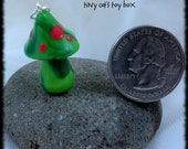 Fairy Toadstool - Charm - Pendant - Ornament - Decoration - Fairy - Fae - Clay Polymer - Hand-Crafted - OOAK