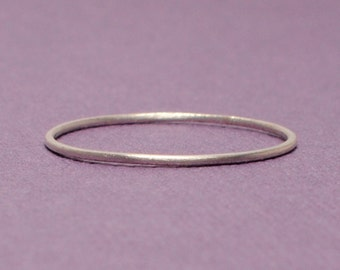 Thin Silver Ring / Size 5 Ring / Tiny Silver Ring/ Simple Silver Ring/ Sterling Silver Ring/ Silver Band/Teeny Weenie Ring *Sterling Silver*