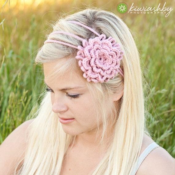 Flower Headband Tutorial: Unavailable Listing On Etsy