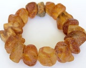 Baltic Amber Bracelet Unpolished