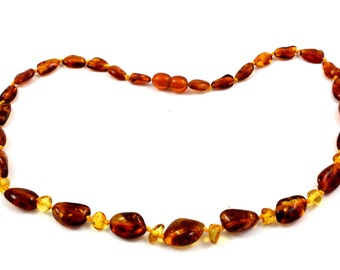 Effective Baltic Amber Baby Teething Necklace for Mommy