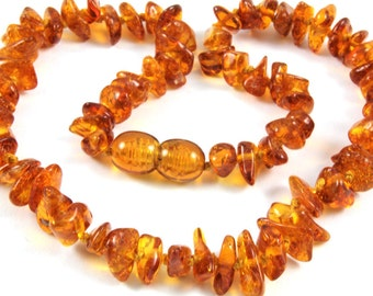 New Baltic Amber Baby Teething Necklace
