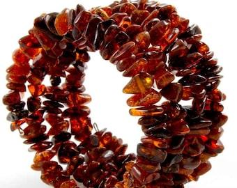Baltic Amber Bracelet Cherry Beads