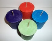 Set of 8 Soy Votives You Pick The Scents Multi-Pack scratch and dent