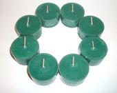 Patchouli Scented Pure Soy Tea Lights Set of 8