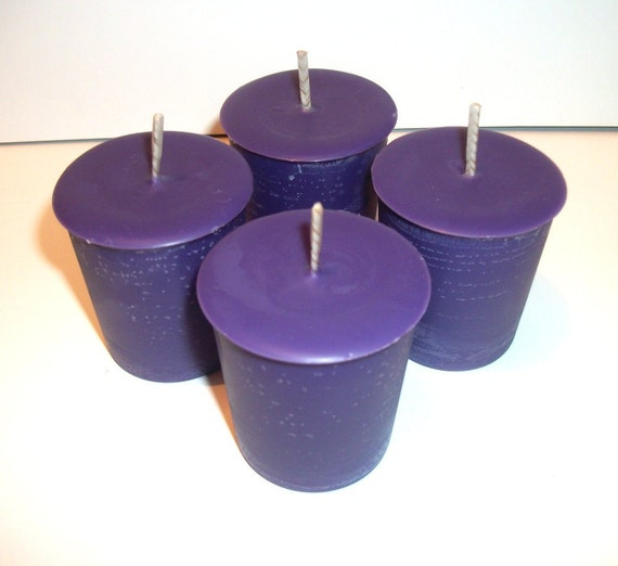 Dragons Blood Scented Soy Votive Candles Set of 4