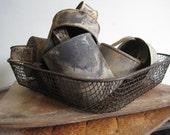VIntage Crimped Wire Basket 1920s