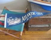 Vintage Atlantic City New Jersy Steel Pier Pennant circa 1930