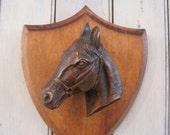 Vintage Horse Equestrian Trophy