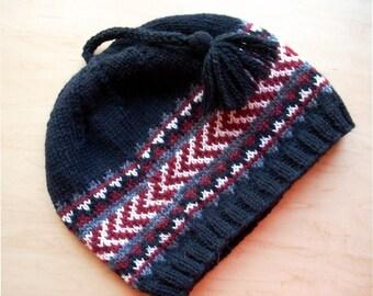 Arrowwood Hat Quick Easy Pattern PDF