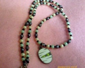 Mummy And Beads Necklace