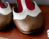 Oxford school girl heels