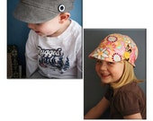 Newsboy Hat PDF Sewing Pattern - INSTANT DOWNLOAD tutorial - Unisex - Child and Youth Size