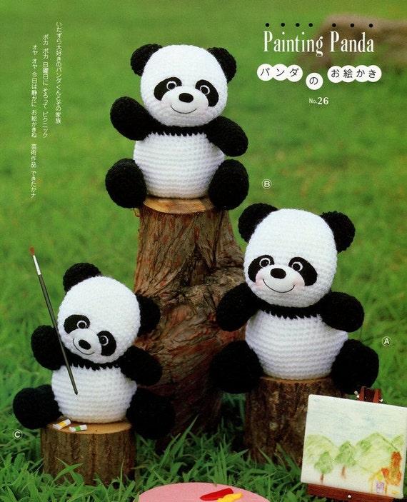 Panda En Amigurumi : Oso panda amigurumi - Imagui