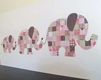 SALE - A Trio of Elephants