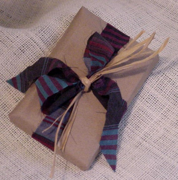 Vintage Shirting Ribbon 5 Yards Shabby Striped Shirting Fabric Ribbon Trim Embellishment SALE