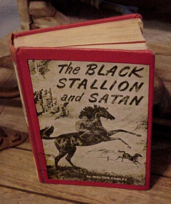 Vintage Black Stallion and Satan Book Walter Farley Hardback 1949 itsyourcountry
