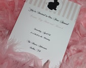 Easter Vintage Peter Cottontail Bunny Party Invitations