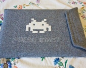 Space Invaders Laptop Cover